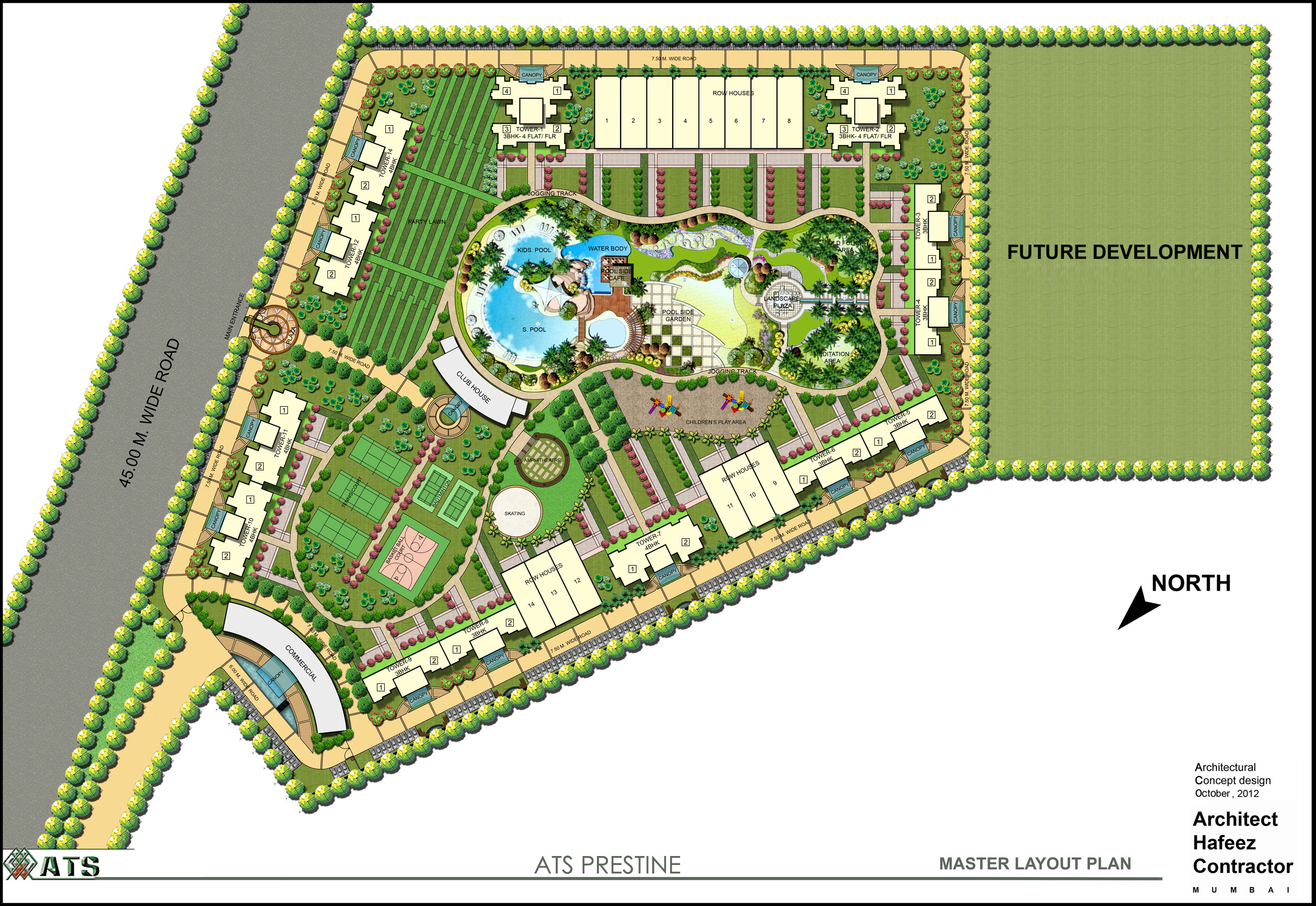 Ats Pristine Phase 1 Sector 150 Noida Resale Flats